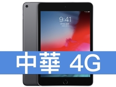 Apple iPad mini (2019) Wi-Fi 64GB 中華電信 4G 金好講 398