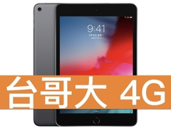 Apple iPad mini (2019) Wi-Fi 256GB 台灣大哥大 4G 台灣好省 398