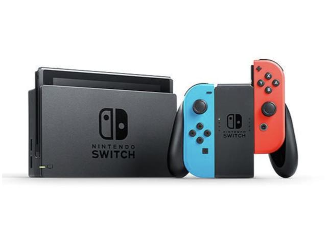 任天堂 Nintendo Switch 熱血同捆組(2019電量加強新版)