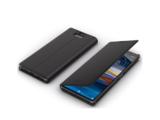 SONY Xperia10可立式時尚保護殼 黑 (SCSI10)