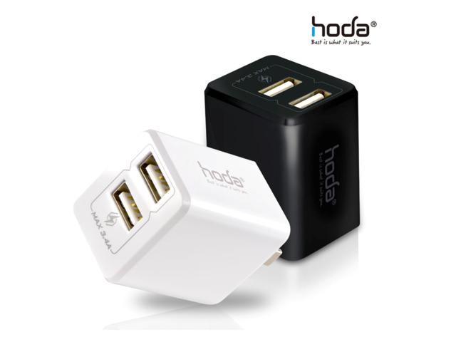 hoda 極速3.4A兩孔電源供應器/充電器