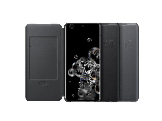 SAMSUNG Galaxy S20 Ultra LED 皮革翻頁套