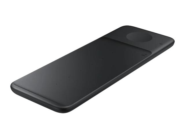SAMSUNG 三合一無線閃充充電板黑(EP-P6300TBTGTW)
