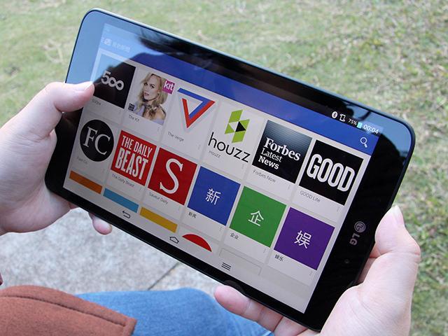 大螢幕、好持握!完全掌握LG G Tablet 8.3平板