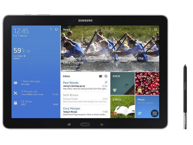 三星發表NotePRO與TabPRO四款平板 內建全新UI【CES 2014】