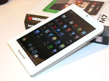 魔聲展出7吋安卓平板MONSTER M7【CES 2014】