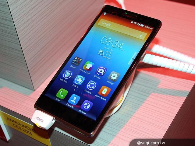 號稱上網最快 Lenovo VIBE Z智慧機LTE-A國際版動手玩【CES 2014】