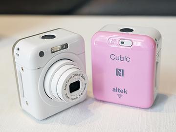 粉紅、金色altek Cubic無線相機開賣 新增iOS支援