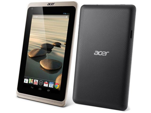 7吋3G平板Acer Iconia B1-721通過NCC審驗