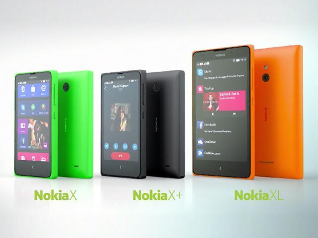 諾基亞首款Android產品出擊!X、X+、XL發表【MWC 2014】