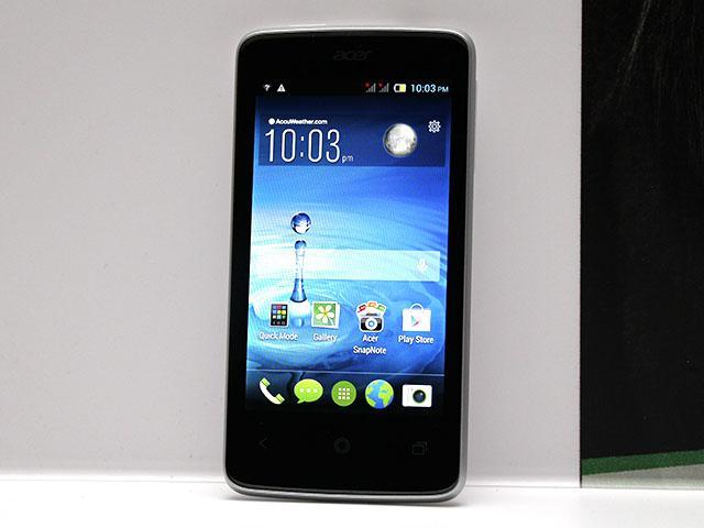 4吋雙卡入門機Acer Liquid Z4動手玩【MWC 2014】