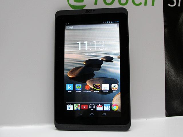 7吋雙核入門平板Acer Iconia B1-721【MWC 2014】