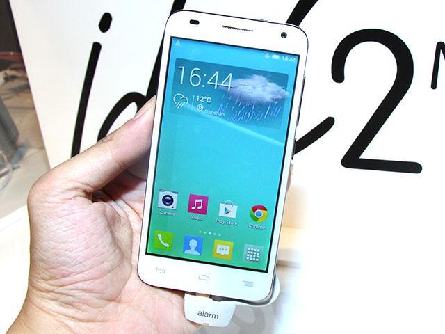 阿爾卡特LTE手機OneTouch Idol 2 mini S通過NCC認證