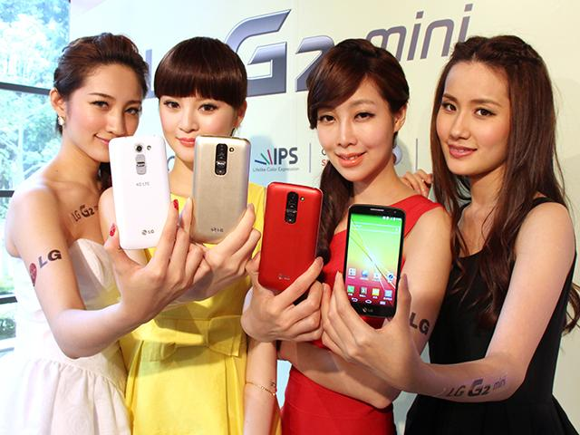 4.7吋迷你G2手機LG G2 mini 中華獨賣 單機8990