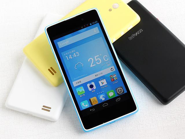 富可視推多彩低價手機!4.7吋雙卡InFocus M210