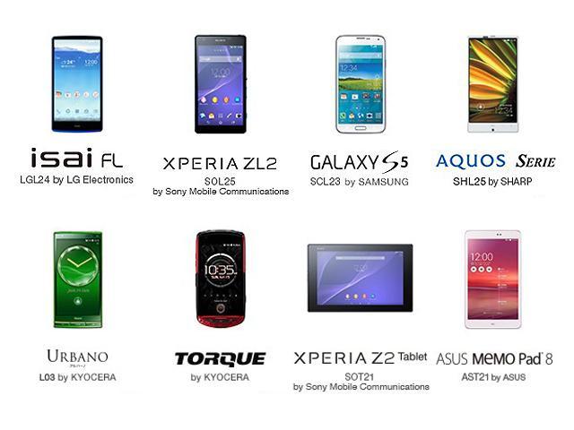 au 2014夏季:LG isai FL、Sony ZL2等8款產品登場