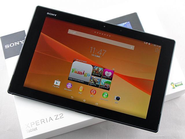 輕薄再現!索尼Xperia Z2 Tablet防水旗艦平板