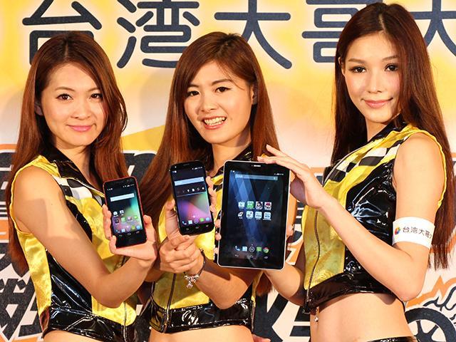 台哥大推4G全頻段Amazing手機及平板 鎖定紅米Note再推A8手機