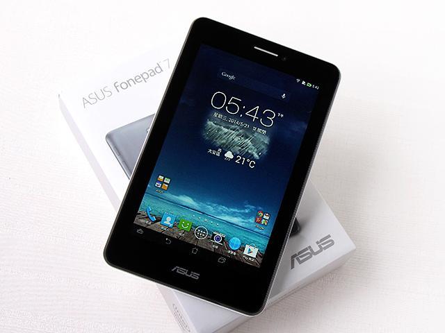 一機抵三機!華碩Fonepad 7 ME175CG雙卡手機平板