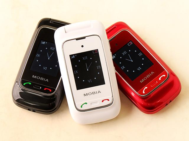 雙螢幕雙卡摺疊機MOBIA M200 具超級助聽功能