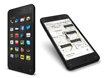 亞馬遜手機Fire Phone發表 以6組相機呈現3D介面