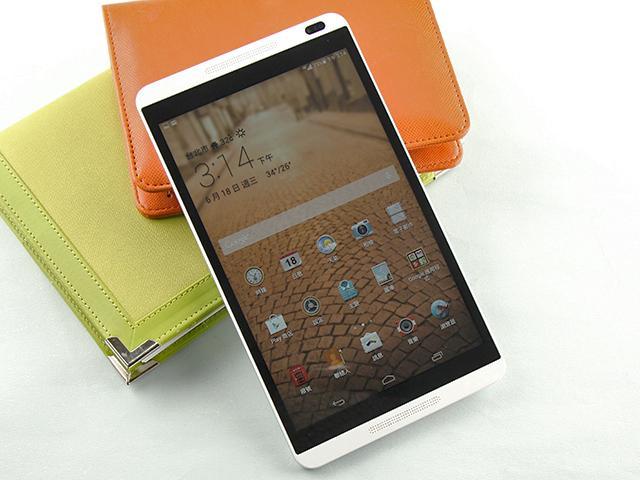 8吋4G通話平板HUAWEI MediaPad M1實測
