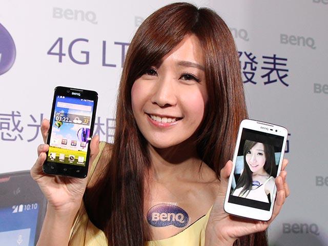 4G手機BenQ F5、T3發表 主打4倍感光、微笑自動拍照