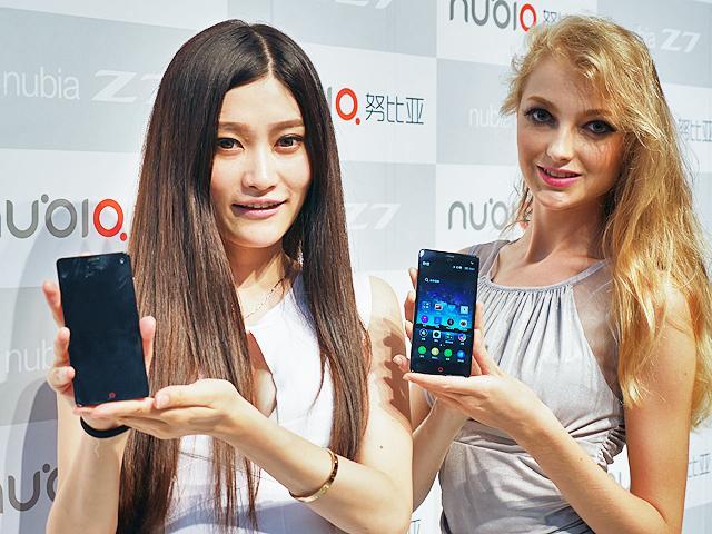 4G雙卡+驍龍801 努比亞Z7、Z7 max、Z7 mini動手玩