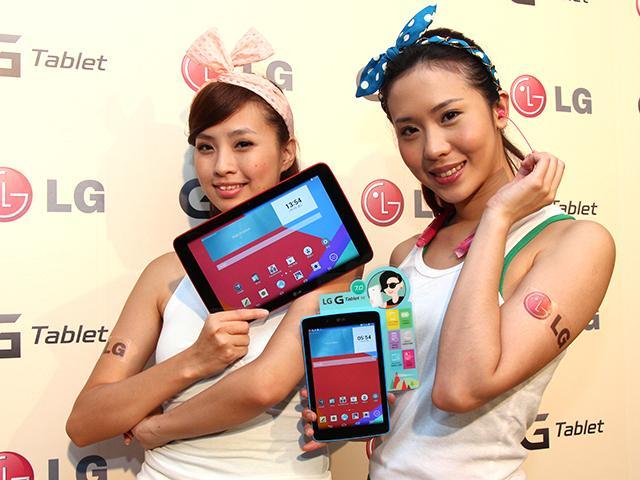 LG G Tablet 7.0、10.1平價搶市 單機4990元起