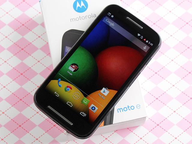 摩托羅拉4.3吋低價智慧型手機 Moto E