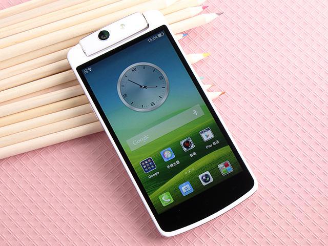 5吋4G手機OPPO N1 mini 翻轉相機輕鬆拍