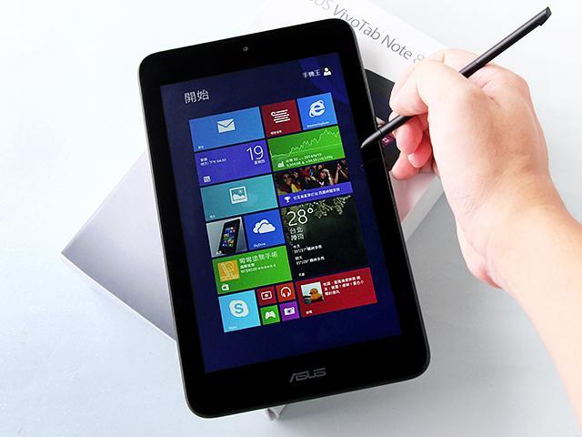內建Wacom手寫筆 華碩VivoTab Note 8實測
