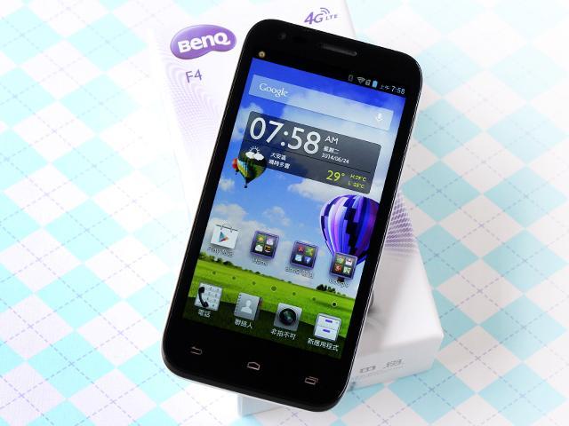 4G網路隨身帶 BenQ F4平價中階智慧機