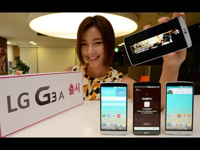 韓國SK客製機LG G3 A發表 搭載5.2吋、驍龍800