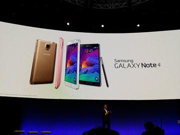 三星發表Note 4、Note Edge旗艦雙機與Gear VR實境裝置【IFA 2014】