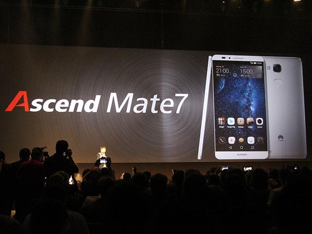華為4G智慧機Ascend Mate7、G7發表【IFA 2014】