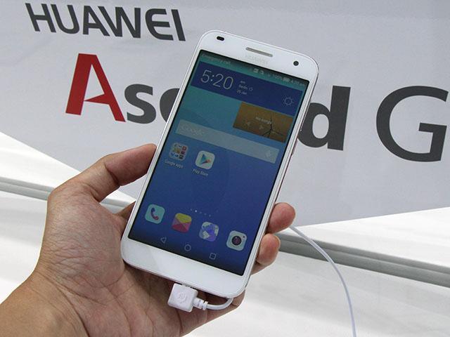 64bit高通四核手機HUAWEI Ascend G7動手玩【IFA 2014】