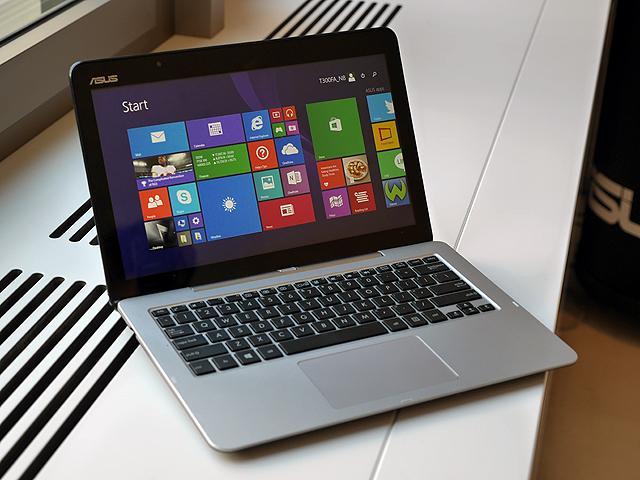 搭載新款Core M處理器 華碩T300FA變形筆電動手玩【IFA 2014】