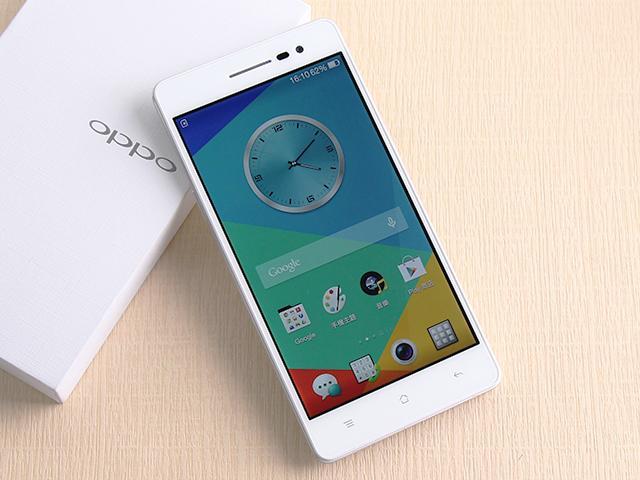 主打夜拍的5吋纖薄4G手機OPPO R3