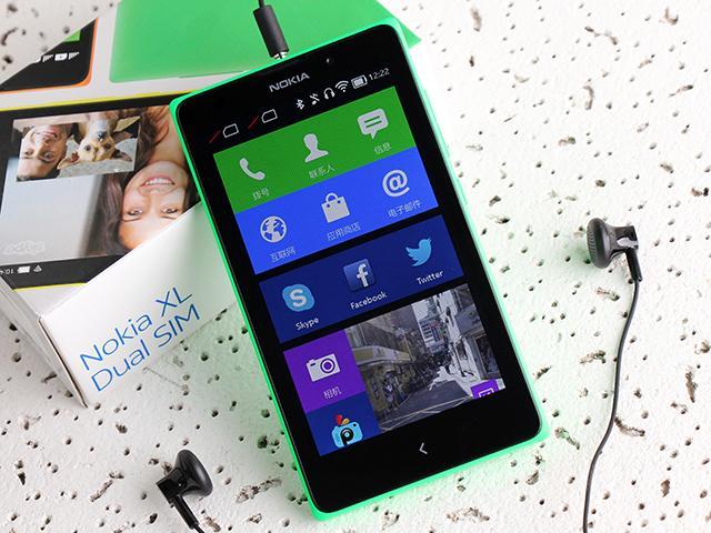 諾基亞5吋Android手機 NOKIA XL實測