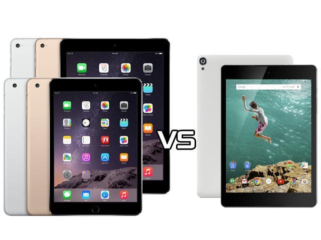 怎麼選?全新iPad Air 2/mini 3 vs Nexus 9比較與採購分析