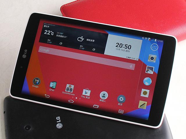 輕鬆飆網非難事!LG首款LTE平板G Tablet 8.0
