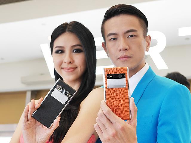全新奢華4G智慧機Vertu Aster登台 要價22萬起