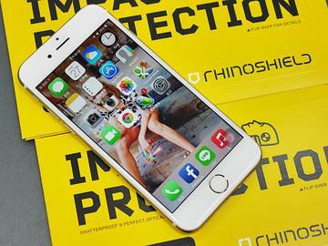 5倍抗衝擊!RHINO SHIELD犀牛盾iPhone 6/6 Plus保護貼