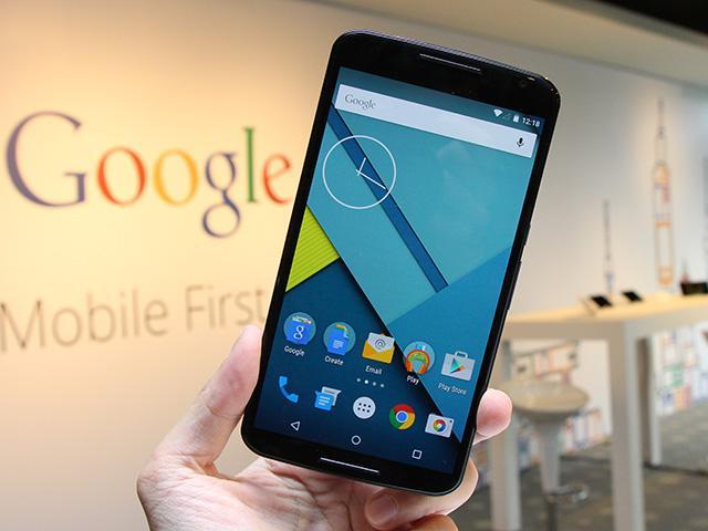 Android 5.0旗艦手機Nexus 6台灣亮相動手玩