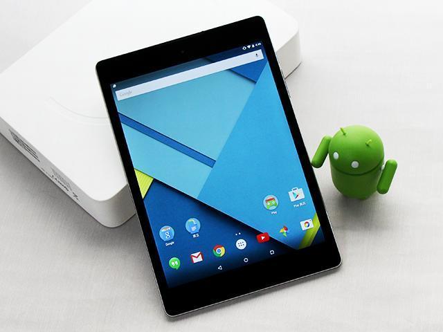 HTC操刀 Google Nexus 9外型與效能實測評析