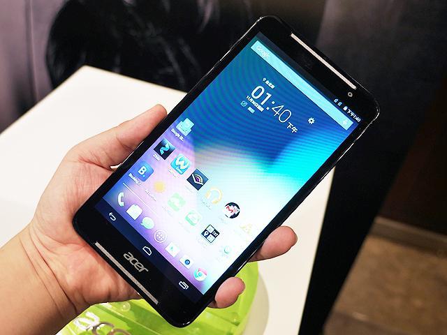 宏碁7吋4G通話平板Iconia Talk S 中華獨賣推資費方案