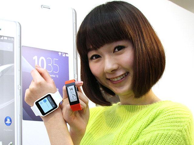 Sony智慧手環即日開賣 安卓智慧手錶台灣12月中搶首發