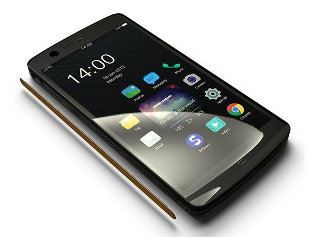 機身完全沒有按鍵!華豚科技發表Manta X7超強手機