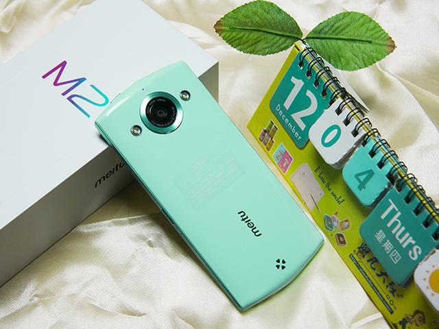 美圖手機M2搭MEIOS 1.5操作新體驗 拍照錄影實時美顏